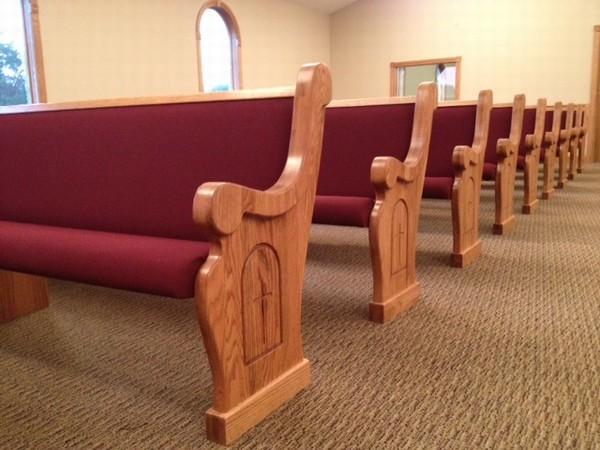 Choosing Church Pews Style Born Again Pews