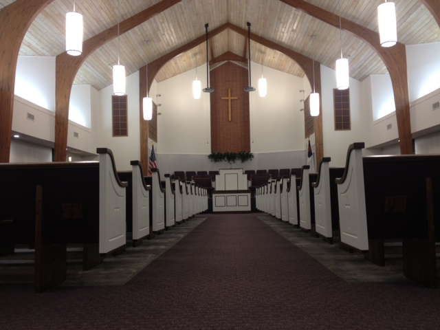 Church Pews for First Baptist Church in Alto, Texas