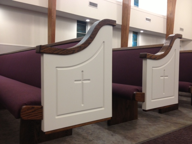 Time for New Church Pews?