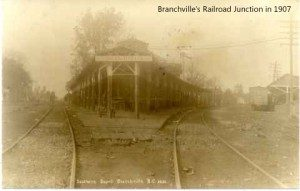 Branchville railroad junction