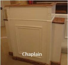 chaplain pulpit