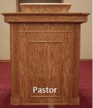 pastor pulpit