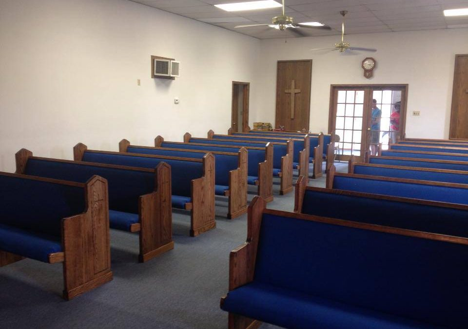 Matching Church Furniture in Liberal, Kansas