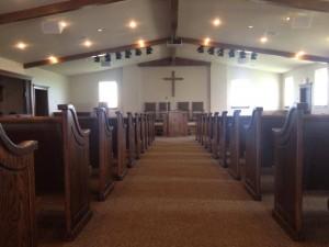 Zion Mennonite Church, Adair OK