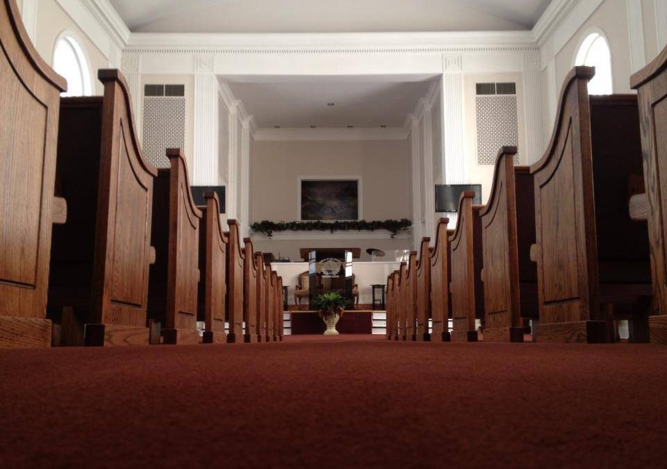 Perfect Pews for Temple of Deliverance in Kinston, NC