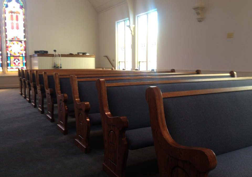Contemporary and Traditional Church Pews