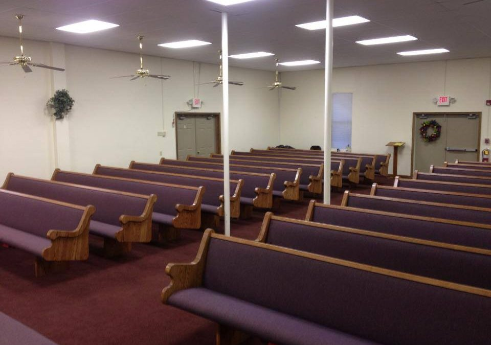 Celebrating New Church Furniture