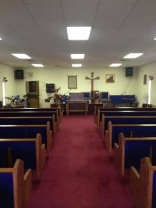 Church Pews for a Small Church