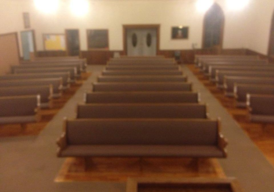 Schell City, Missouri, Welcomes Born Again Pews!