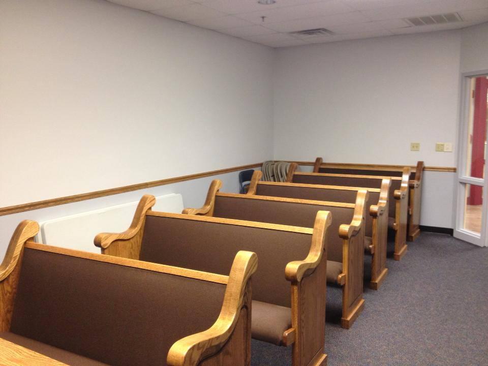 Church Pews For Chapels In Nursing Homes Church Pews