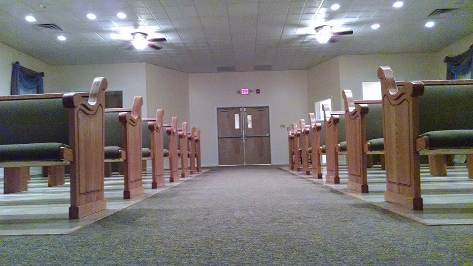Church Pews for Vineland, New Jersey