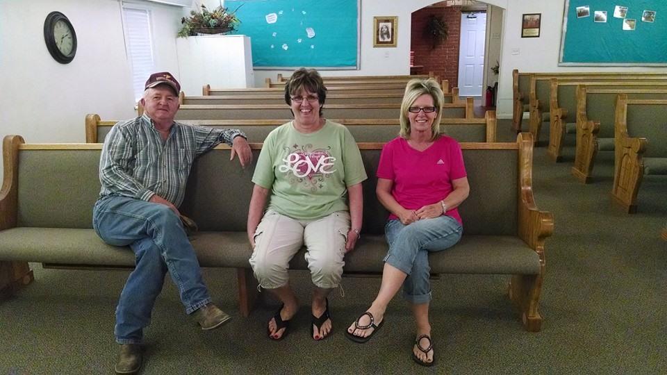 Born Again Pews Church Furniture in Cement, Oklahoma