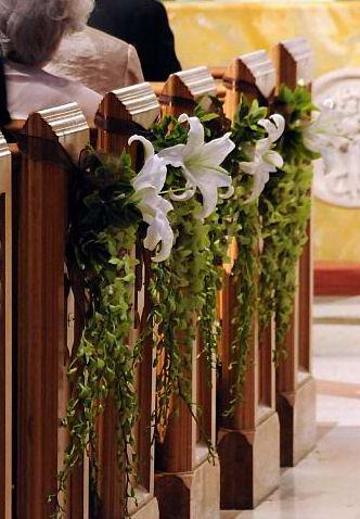 Wedding Decorations For Pew Ends