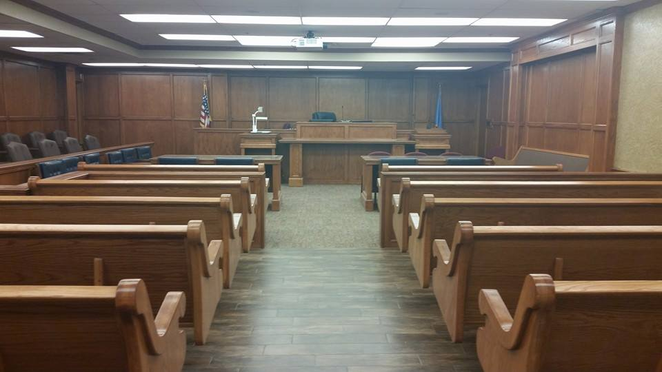 New Courthouse Benches