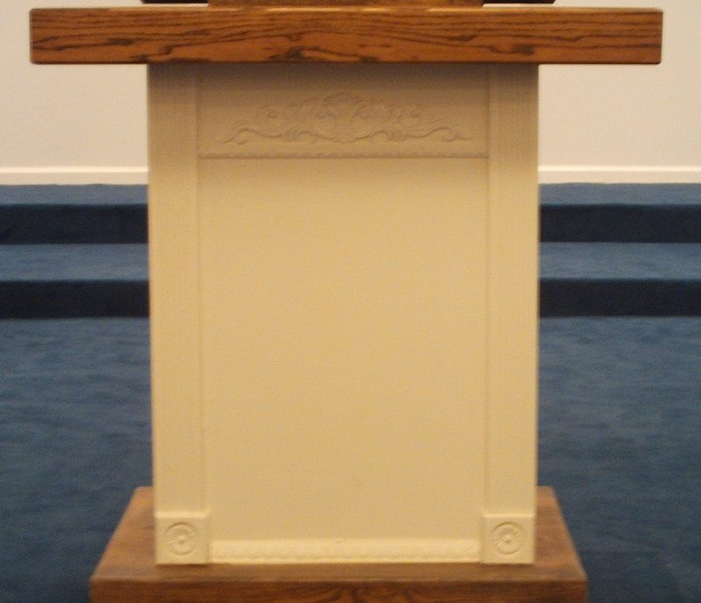 A New Church Pew Installation