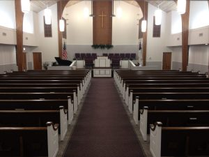 church pews with white ends in Alto TX