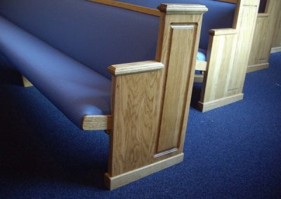 church pew ends