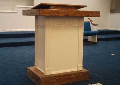 Greenville_MS_pulpit