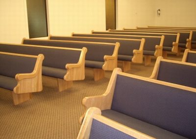 rows of pews