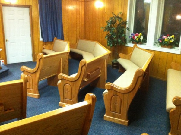 How Much Foam is Too Much for Church Pews?