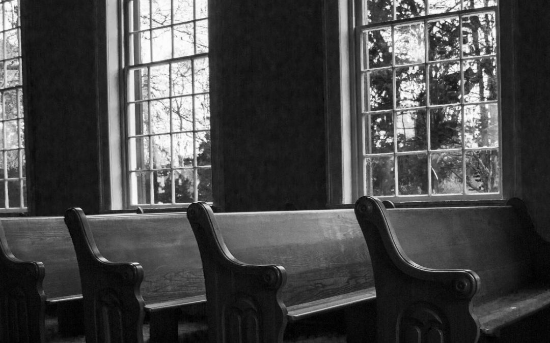 The Old Familiar Feeling of Church Pews
