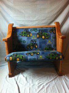 John Deere tractor kid pew