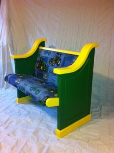 John Deere Church Pew For Kids