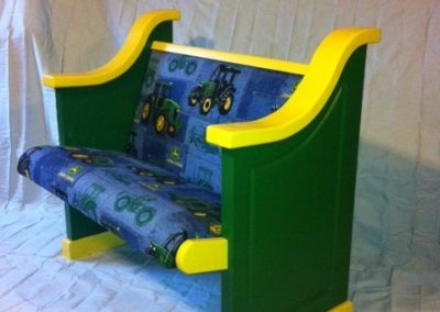 John Deer Church Pew For Kids