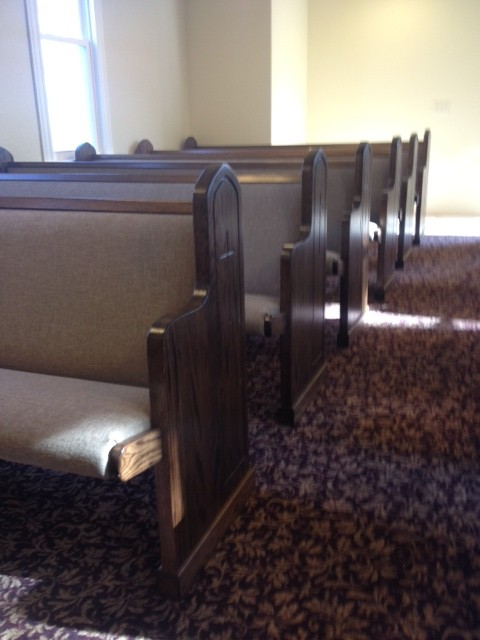 How to Clean Church Pews with Olefin Fabrics