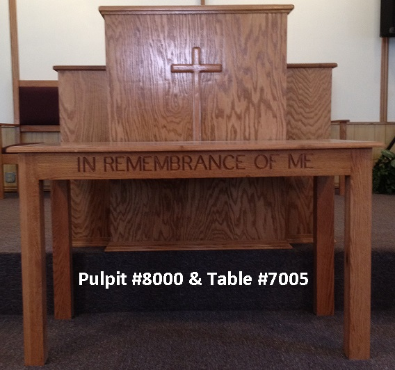 Using Our Church Furniture Catalog