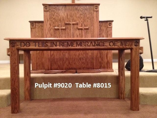 Born Again Pews Tables | Solid Oak Custom Tables