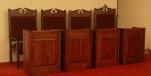 orthodox chairs raised panel kneelers