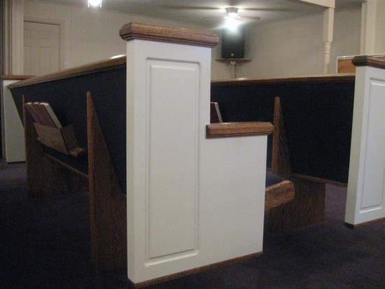 Pews for Choirs?