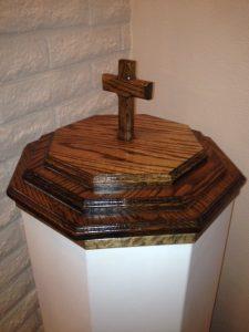 baptismal closed font