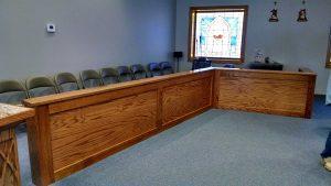 custom church furniture