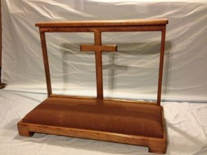 church stand with cross