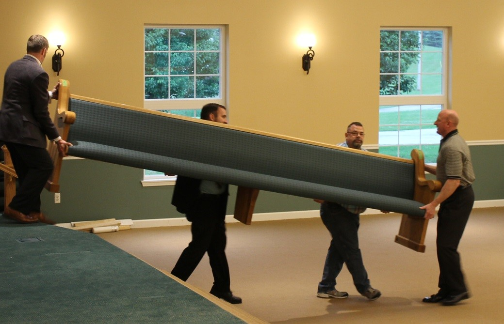 Useful Tips For Moving A Church Pew
