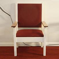 Comfortable church chair