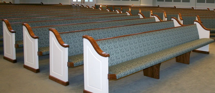 Guide to Replacing the Fabric on Your Used Pews