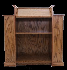 pulpit backside view